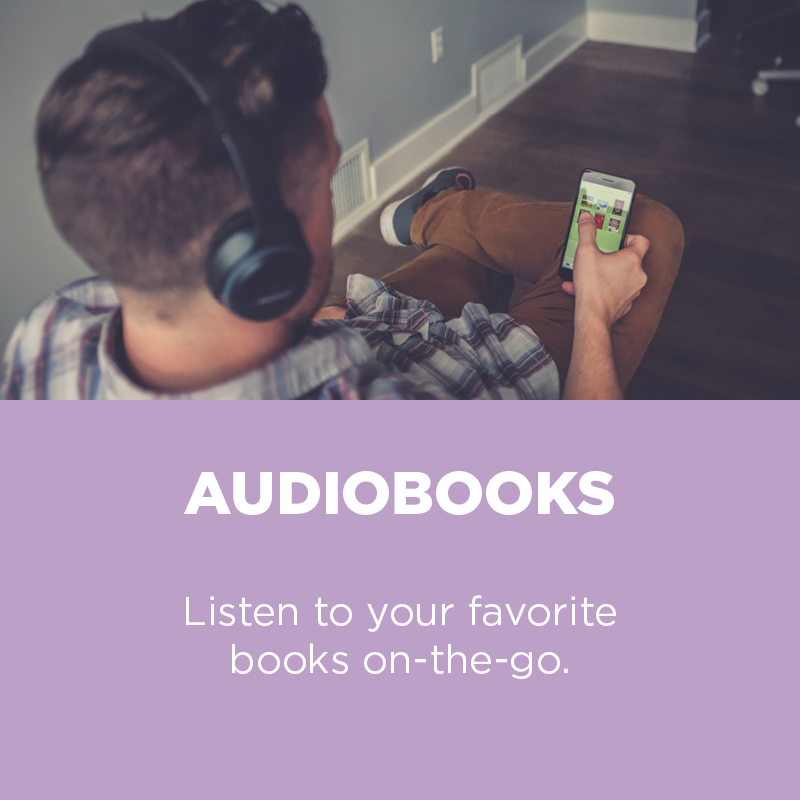Listen to your favorite books on-the-go