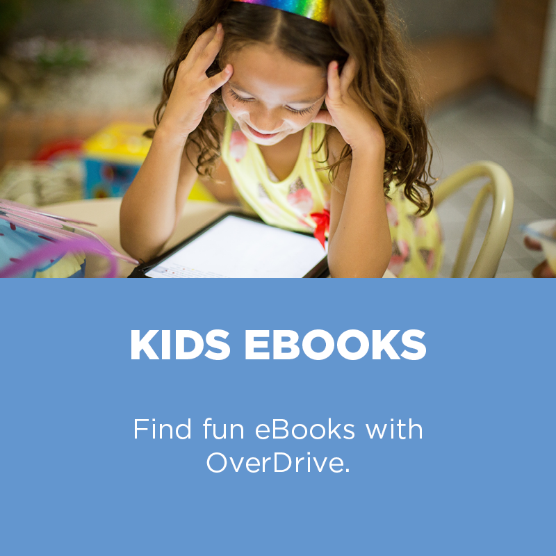 Find fun eBooks with Overdrive